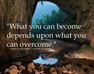 Motivational Wallpapers on Life : What you can become depends upon