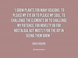 Quotes About Plants Growing