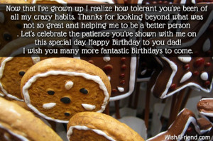 Best Dad Birthday Quotes Not so great and helping