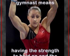 Gymnastics Poster Jordyn Wieber Oly mpic Champion Gymnast Photo Quote ...