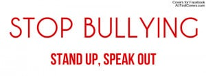 Stop Bullying Profile Facebook Covers