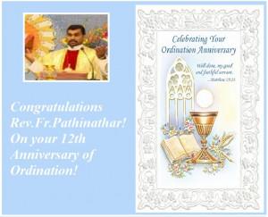 Catholic Priest Ordination Anniversary Prayer