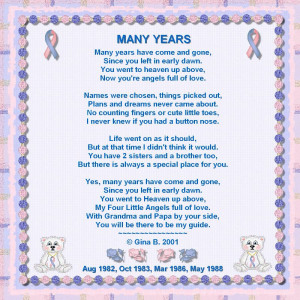 Infant Loss Poems Pregnancy and infant loss
