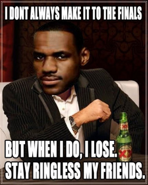 LeBron James Mockery Continues