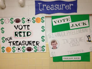 Grade Student Council Posters