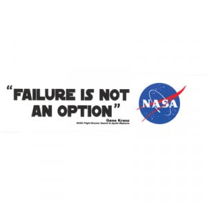 apollo 13 failure is not an option poster
