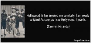 More Carmen Miranda Quotes