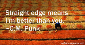 Favorite CM Punk Quotes