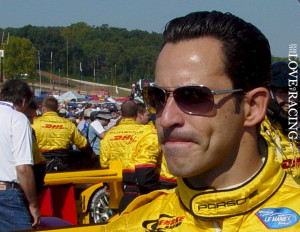 Helio Castroneves at the Petit LeMan