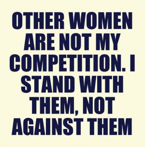 stand together as women