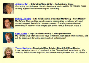 Referral Quotes For Business Cards Endlessreferral...