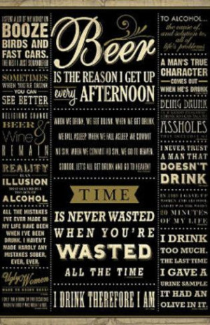 Drinking Quotes College Poster Print Prints at AllPosters.com