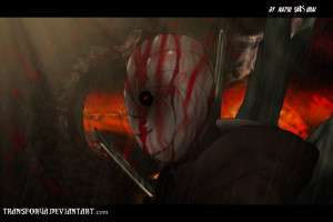 Naruto Shippuden 345 - Obito in the Hell by TRANSFORUA