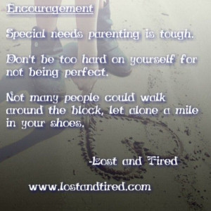 Special needs parenting encouragement picture & quote from www ...