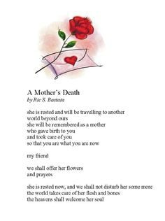 Mother's passing More