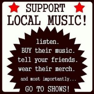 love Cincinnati's local music!