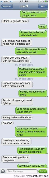 an argument about halo 4 with a friend / Funny Pictures, Funny Quotes ...