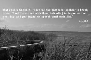 bible verses about sabbath day