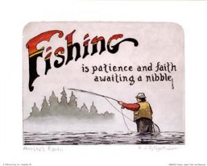 Fishing-Angler's Faith ~ Fine-Art Print