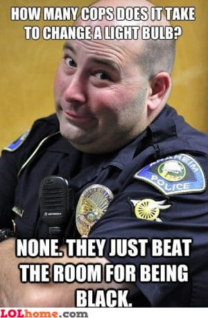 police black racism