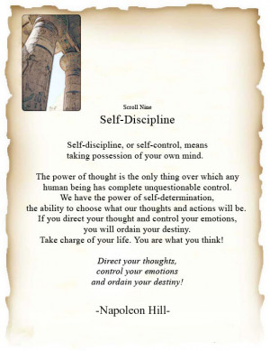 self discipline quotes and sayings