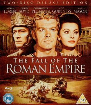 The Fall of the Roman Empire 1964 1080p Blu-ray AVC DTS-HD MA 5.1