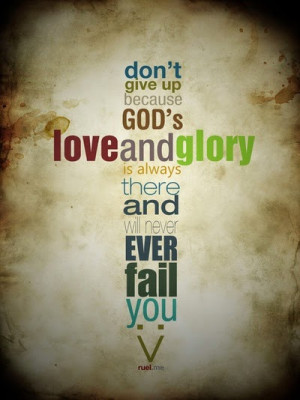 Don't Give Up - Bible Verses and Christian Quotes