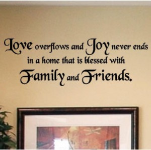 Details about Decals Vinyl Wall Lettering Home Decor Quotes Sayings