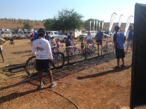 ... tank which is more than enough water to wash bikes after the event
