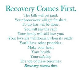 many better rewards in life when you remain in recovery