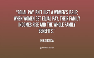Equal Pay for Women Quotes