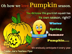 autumn pumpkin quotes