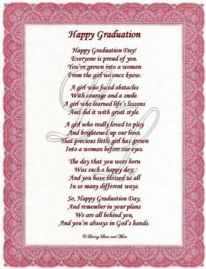Graduation Poems For Preschoolers