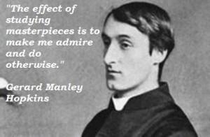 Gerard manley hopkins quotes 3