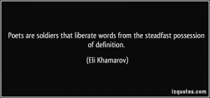 More Eli Khamarov Quotes