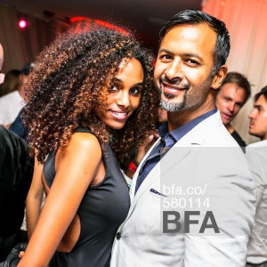 Gelila Bekele, Ronnie Madra at LE BARON ART BASEL - THE PEARL Maripol ...
