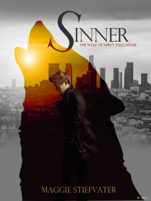 Fanmade book cover of Sinner by Maggie Stiefvater.