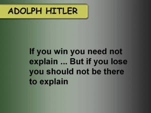 Adolph Hitler Quotes Picture
