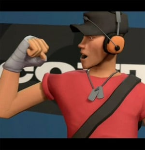 scout tf2 team fortress hd wallpaper