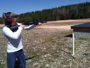 Awesome day shooting trap with my girls
