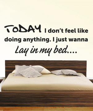 Bruno-Mars-Lay-in-my-Bed-Quote-Art-Sticker-Mural-Easy-Peel-Stick-On ...