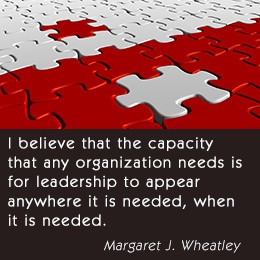 Margaret J. Wheatley on leadership