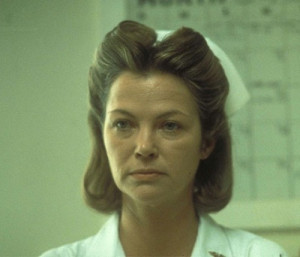 Louise Fletcher as Nurse Ratched in 1975 One Flew Over the Cuckoo's ...