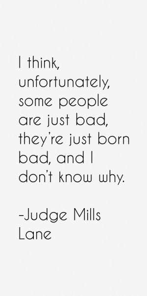 Judge Mills Lane Quotes & Sayings