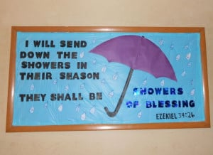 April Church Bulletin Board