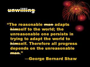 Unreasonable People