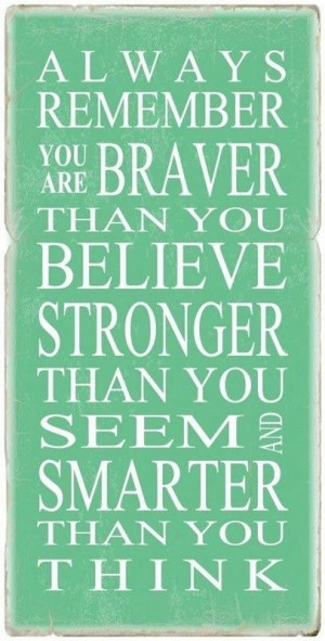 Day 7- You are braver and stronger than you think....bootcampbarre.com