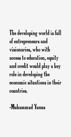 Muhammad Yunus Quotes & Sayings