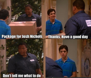 drake and josh, funny, hilarious, nickelodeon