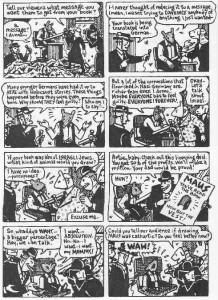 in 1991 by American cartoonist Art Spiegelman. It depicts Spiegelman ...